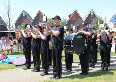 Groene Bogen Fanfare staand Balkon Festival 23-06- 2019 - PattyPeppe Fotografie-23